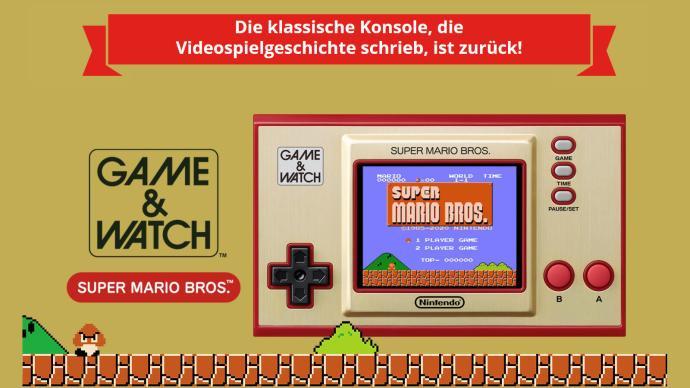 Mario Game And Watch 35 Jahre Nintendo