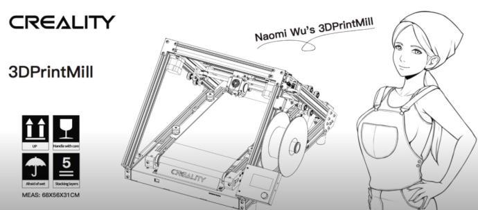Naomi Wu 3dprintmill