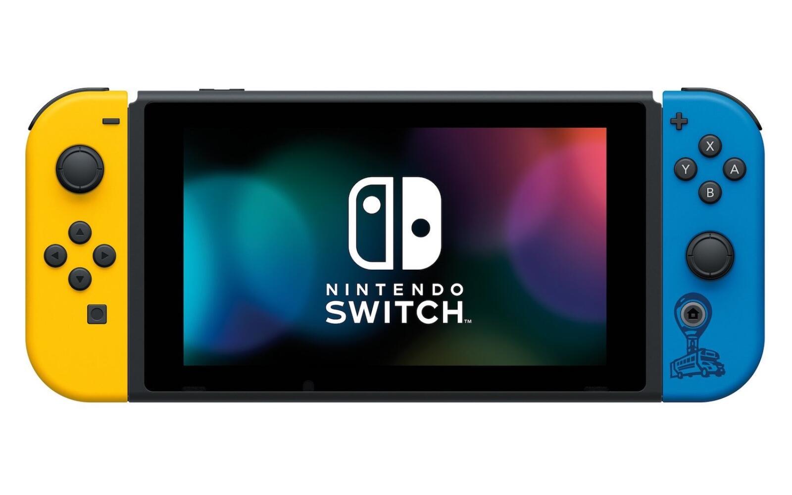Nintendo Switch Fortnite Front