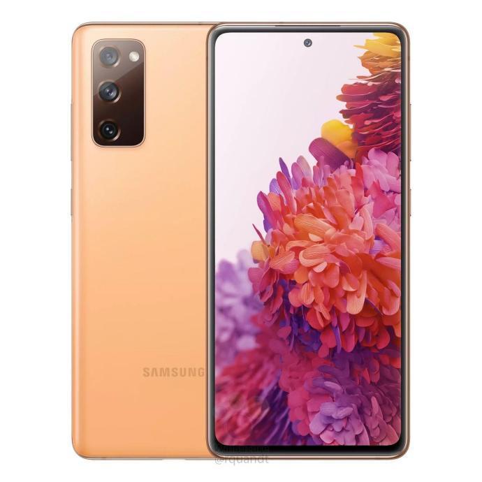 Samsung Galaxy S20 Fe Leak Orange