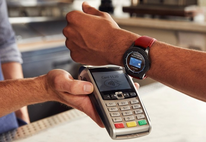Samsung Pay Galaxy Watch Header