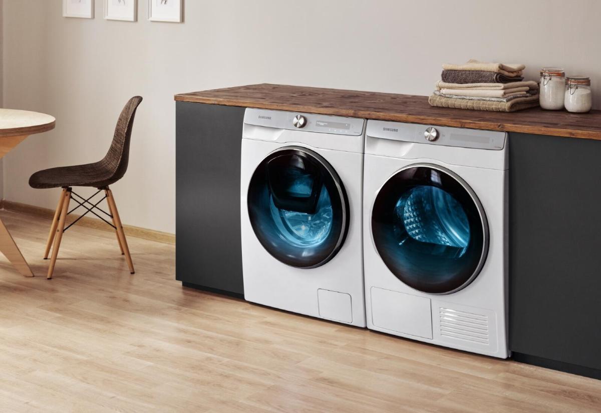 Samsung Waschmaschine Header