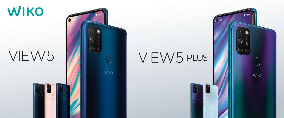 Wiko View 5 Header