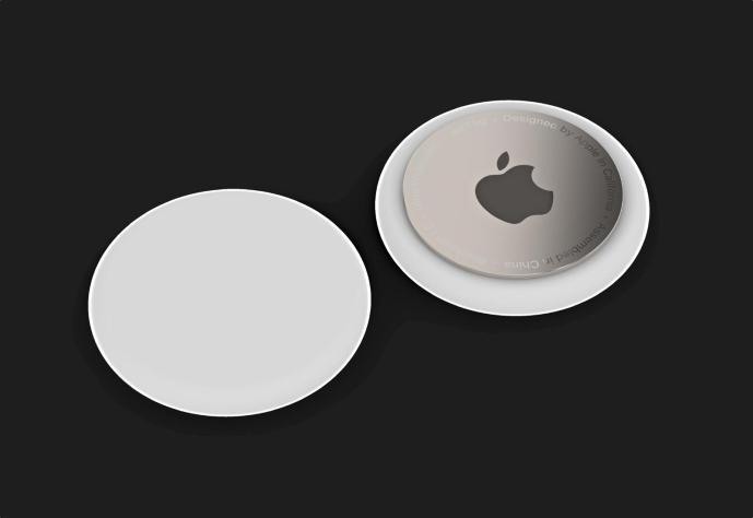 Apple Airtags Mockup