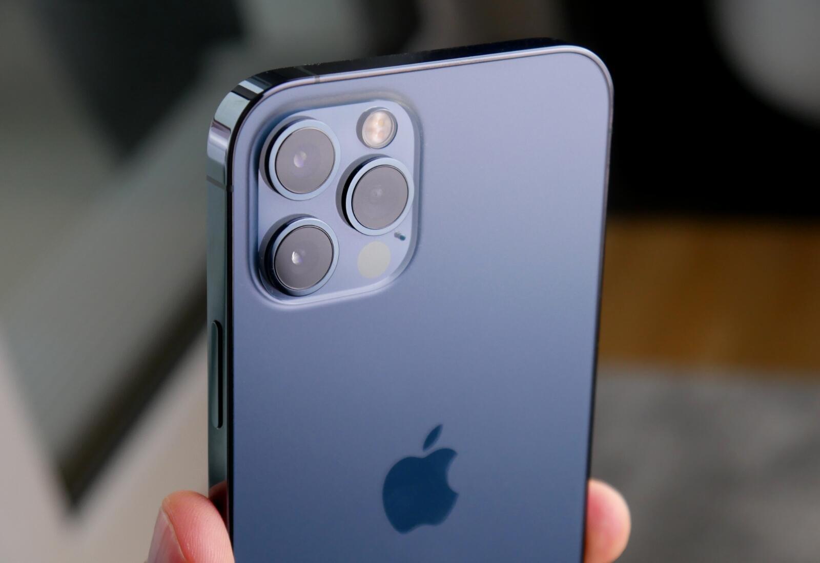 Apple Iphone 12 Pro Blau Kamera