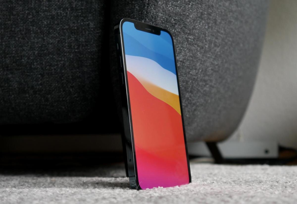Apple Iphone 12 Pro Display Header