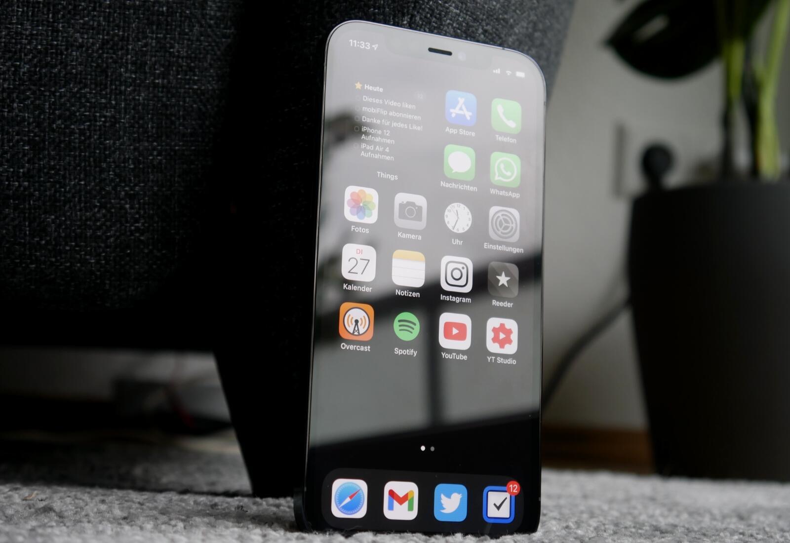 Apple Iphone 12 Pro Homescreen
