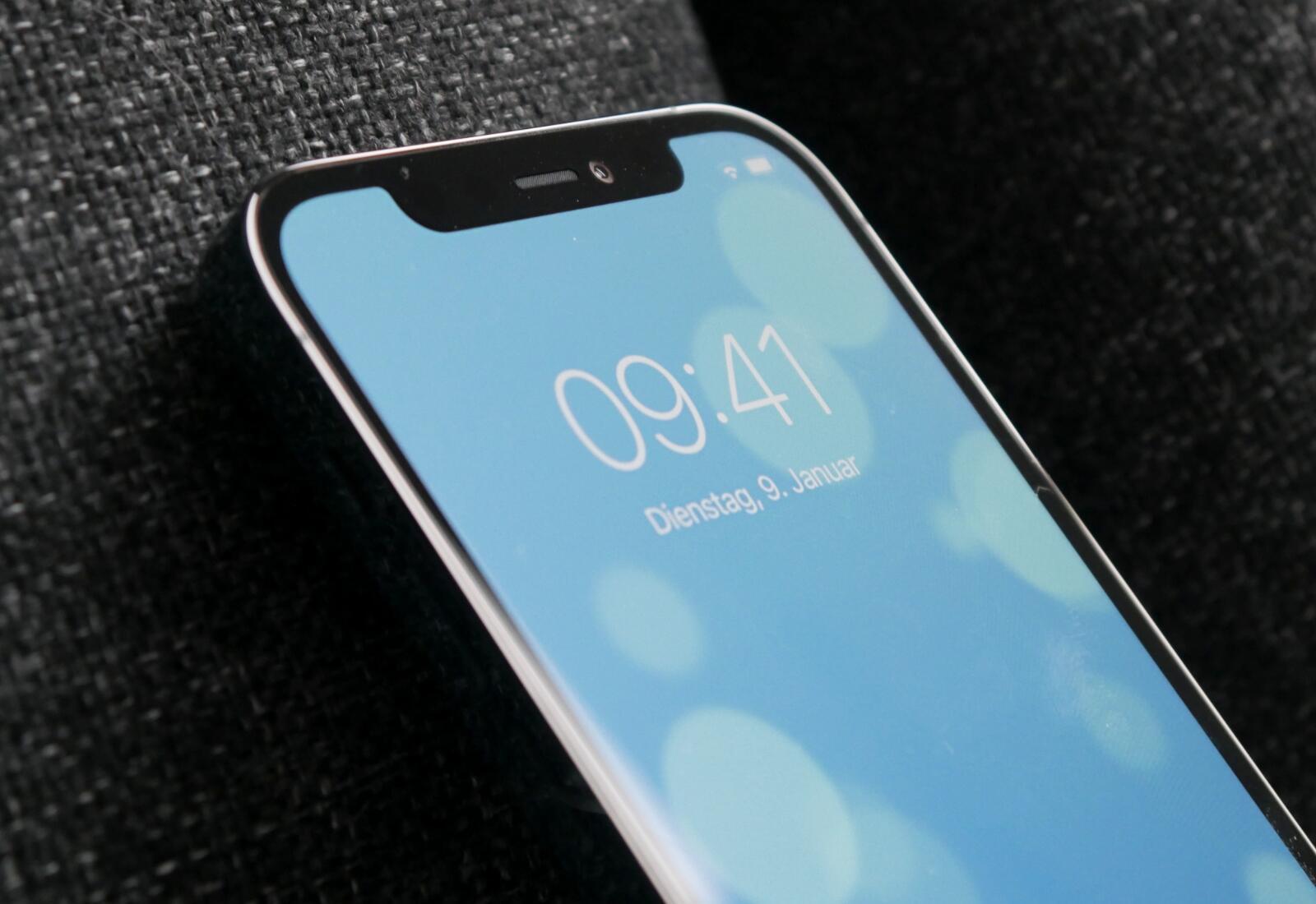 Apple Iphone 12 Pro Notch Detail
