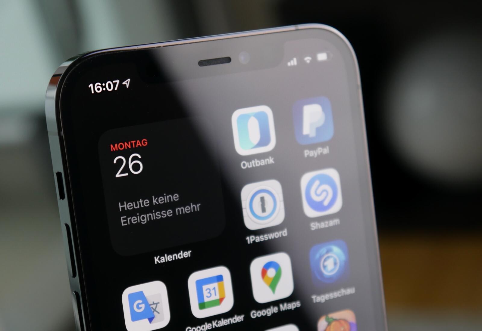 Apple Iphone 12 Pro Widget Detail