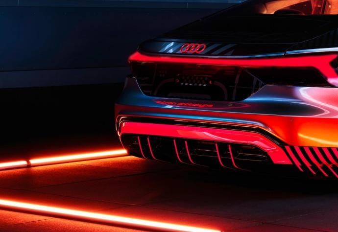 Audi E Tron Gt Prototyp Back