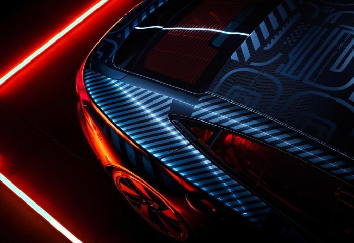 Audi E Tron Gt Prototyp Licht