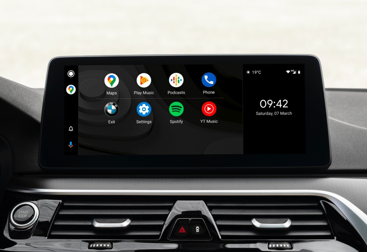 Bmw Android Auto Header