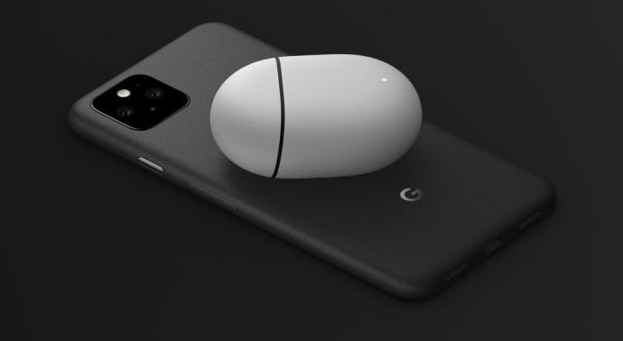 Google Pixel 5 Qi Schwarz