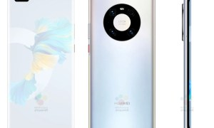 Huawei Mate 40 Pro Silber