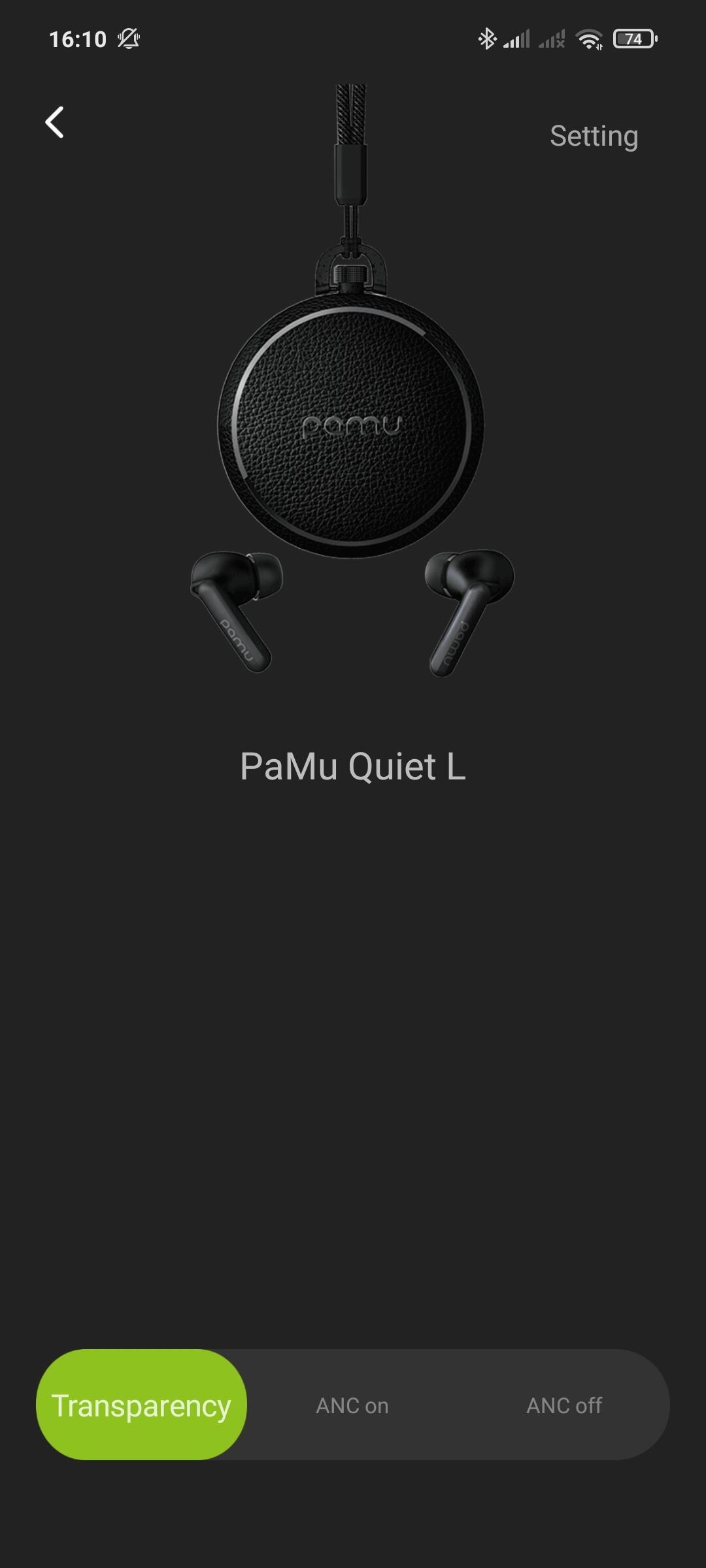 Pamu Quiet App 1