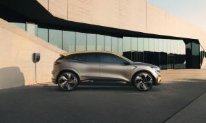 Renault Elektro Megane Laden