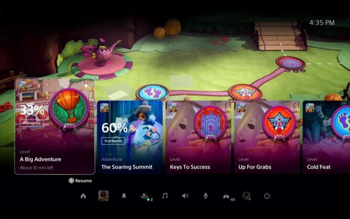 Sony Playstation Ps5 Ui
