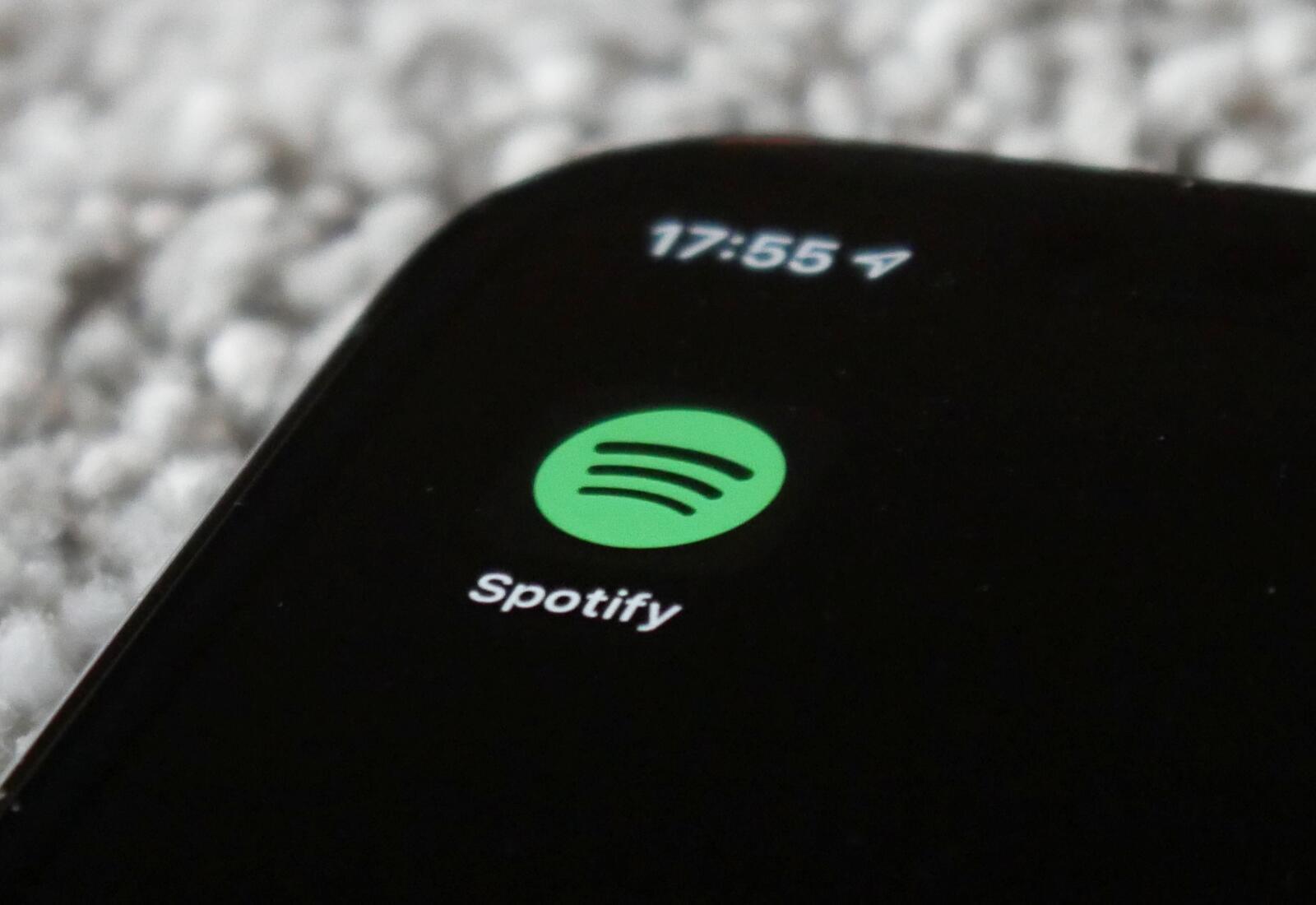Spotify Logo Header