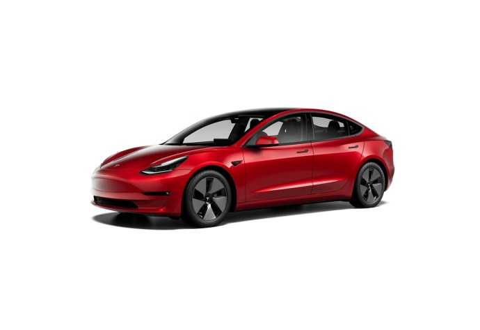Tesla Model 3 2021 Rot