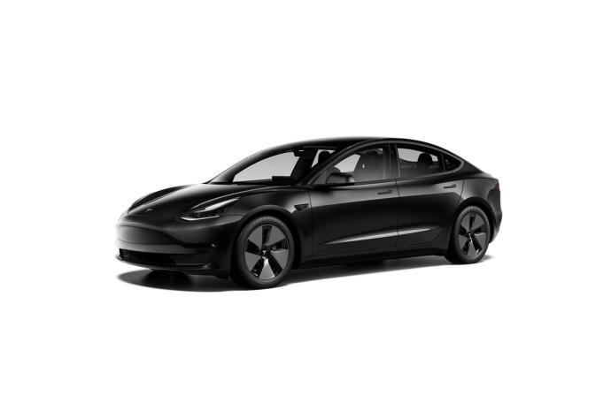 Tesla Model 3 2021 Schwarz