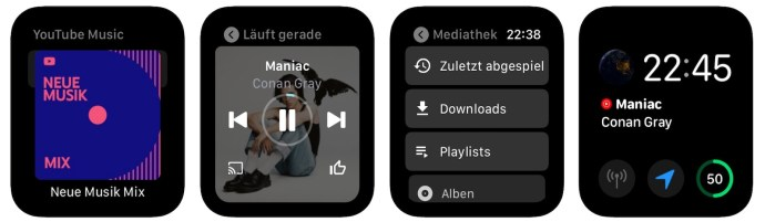 Youtube Music Apple Watch