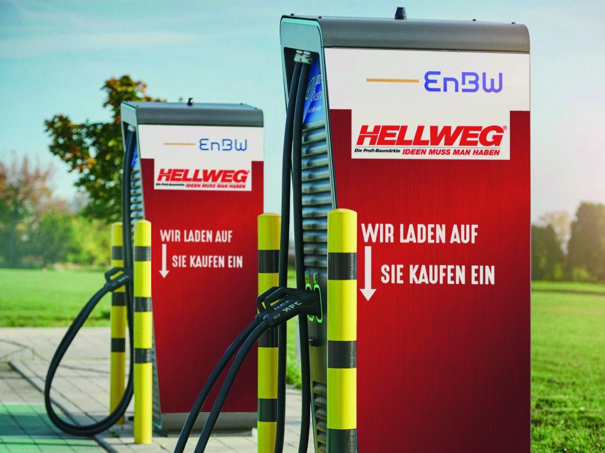 20201120 Symbolbild Beispielhaftes Branding Einer Enbw Ladesaeule Bei Hellweg 1605859571010