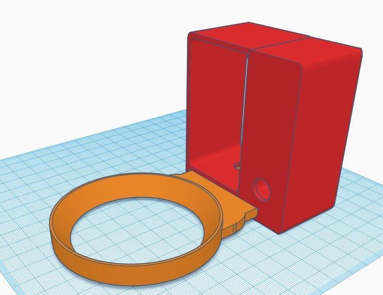 3d Design Echo Dot 4th Generation Halterung Tinkercad Printfluencer
