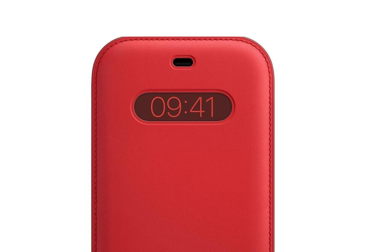 Apple Magsafe Leder Rot Iphone 12