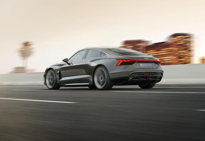 Audi Etron Gt Konzept Back
