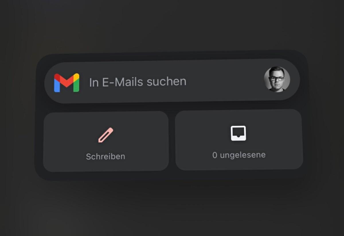 Gmail Widget Ios