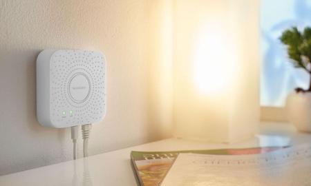 Lidl Silvercrest Gateway Zigbee Smart Home Sprachsteuerung Drahtloses Verbindungsprotokoll Zoom 2
