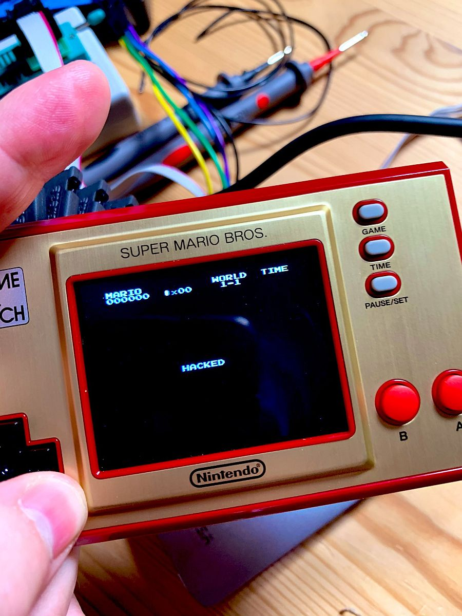 Nintendo Game And Watch Hacked