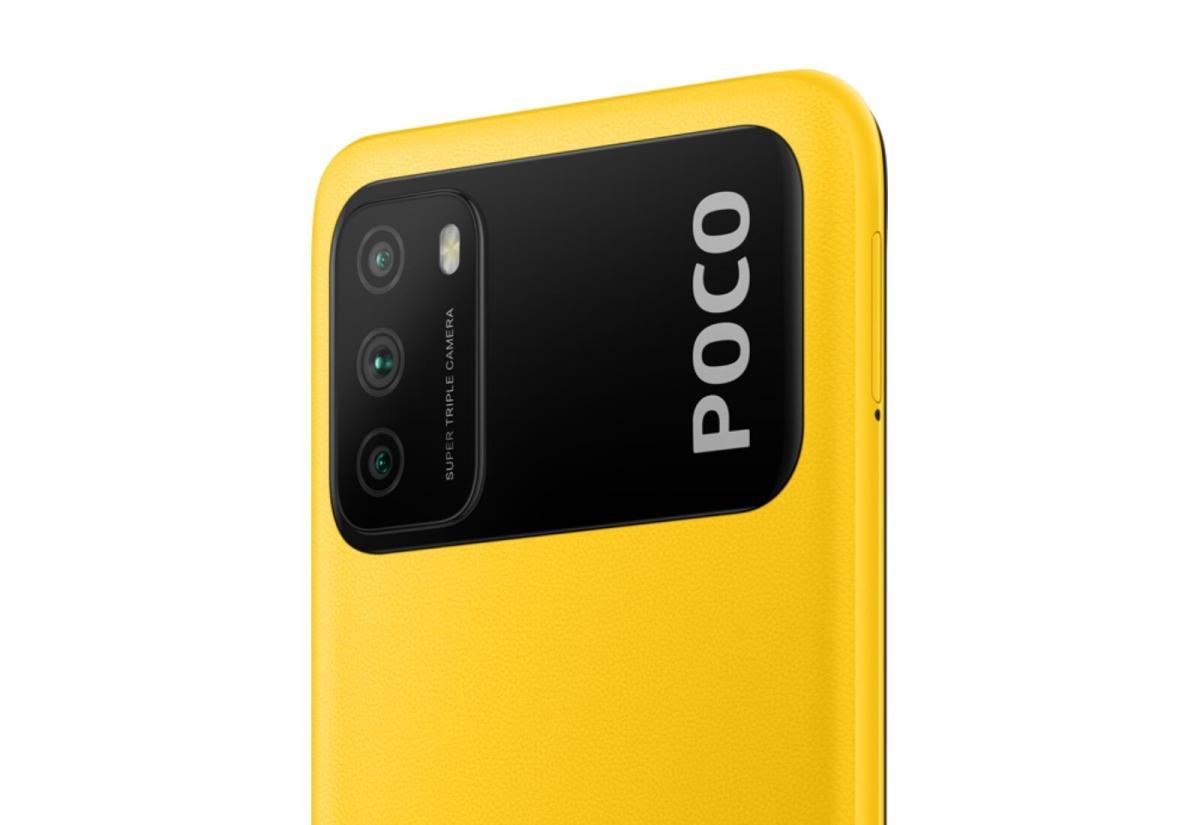 Poco M3 Gelb Header
