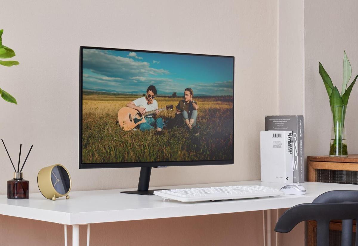 Samsung Smart Monitor Header