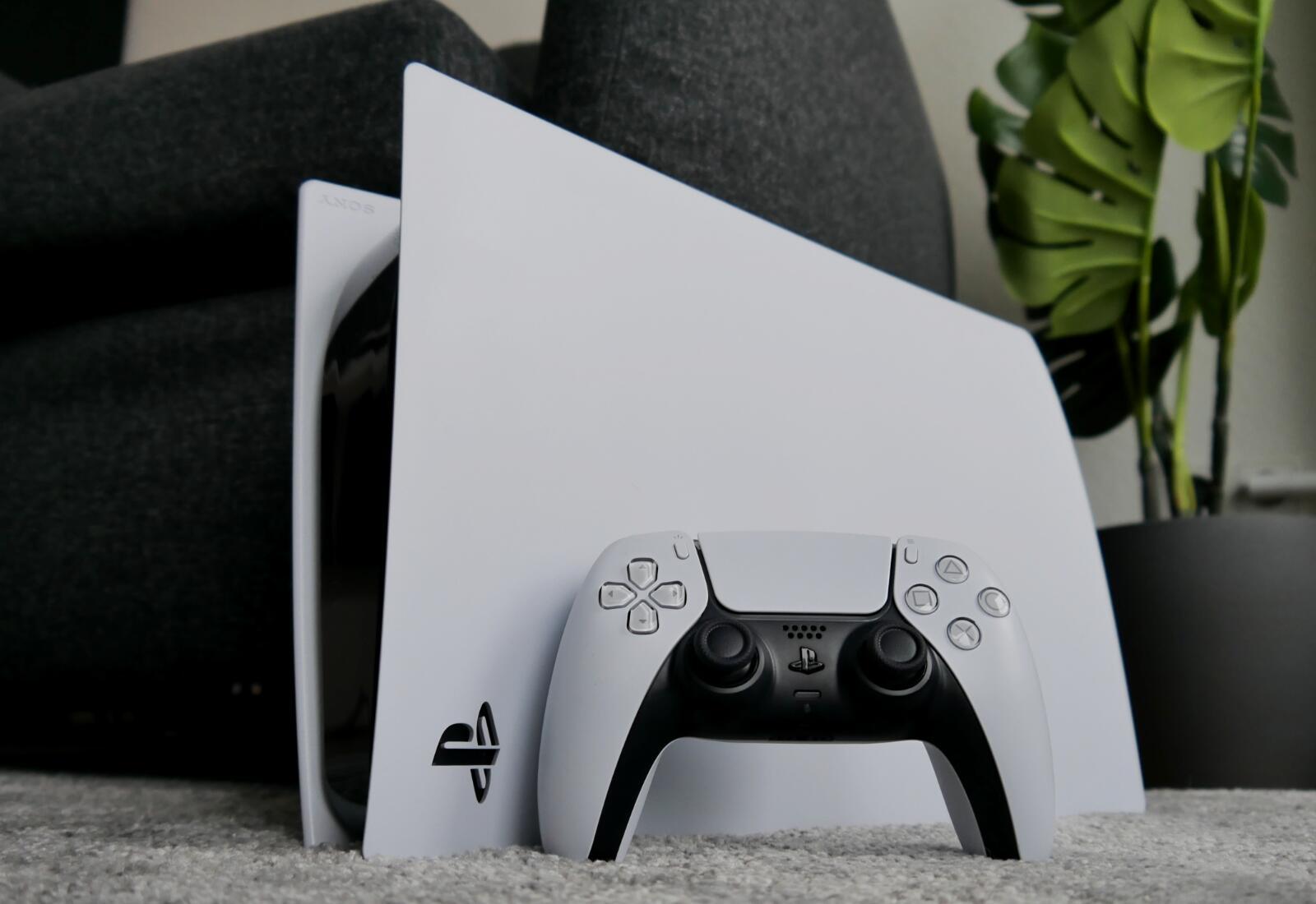 Sony Playstation 5 Ps5 Header