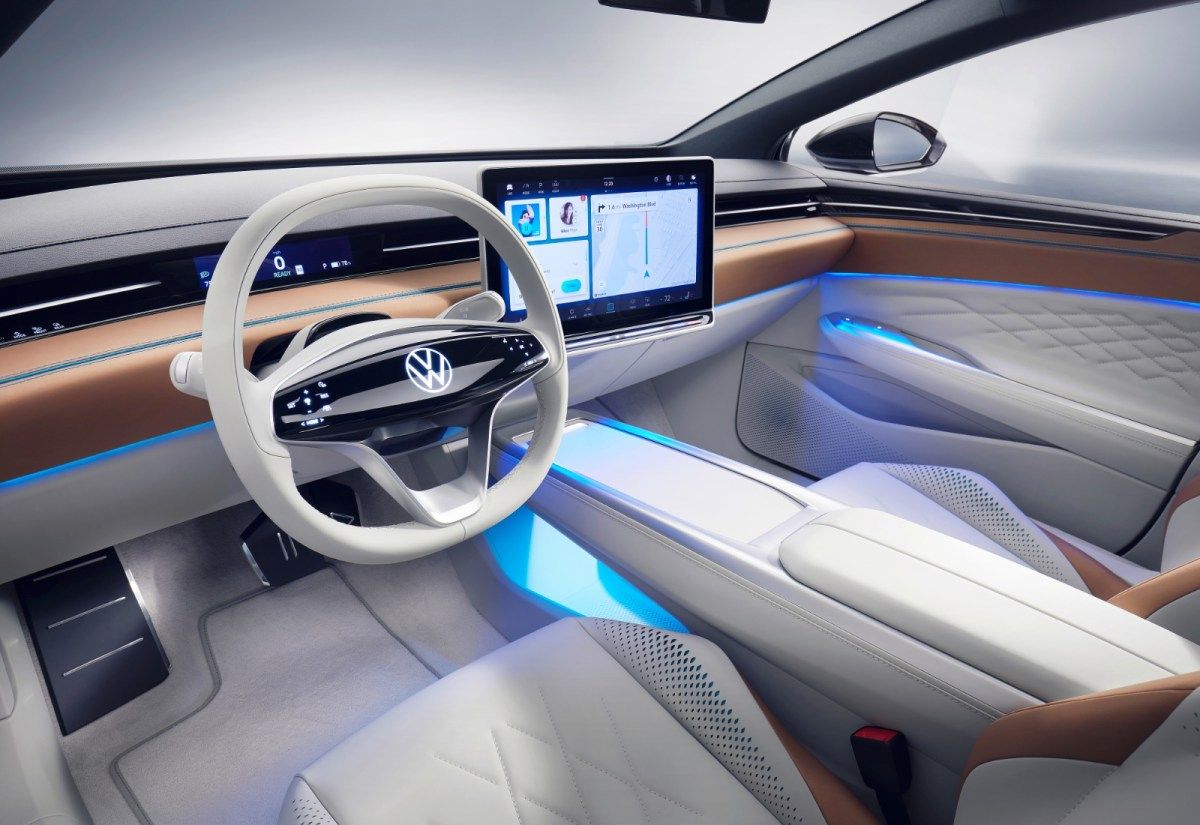 Volkswagen Vw Id Space Vizzion Innen