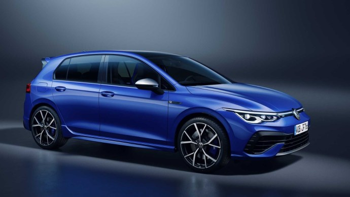 Vw Golf R Front