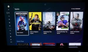Xbox Series X Menu5