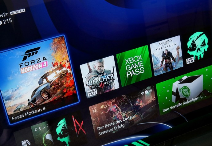 Xbox Series X Ui