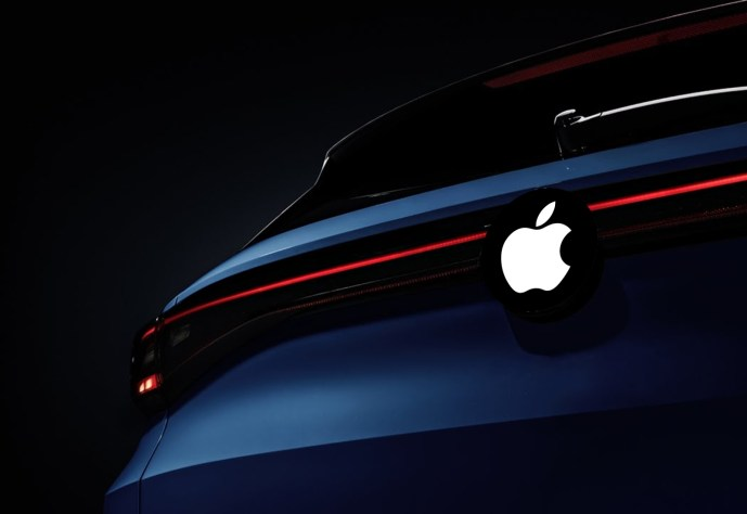 Apple Auto Car Mockup