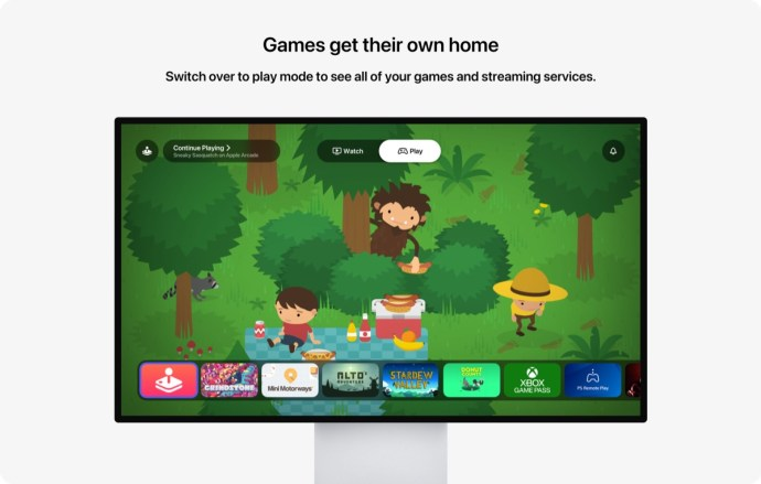 Apple Tv Pro Konzept Arcade