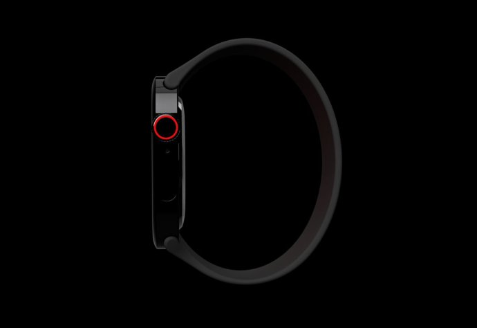 Apple Watch Series 7 Concept Side