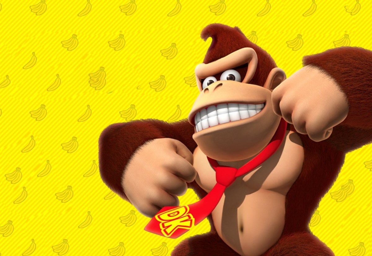 Donkey Kong Header