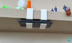 Ikea Lack Regal Handy Halterung