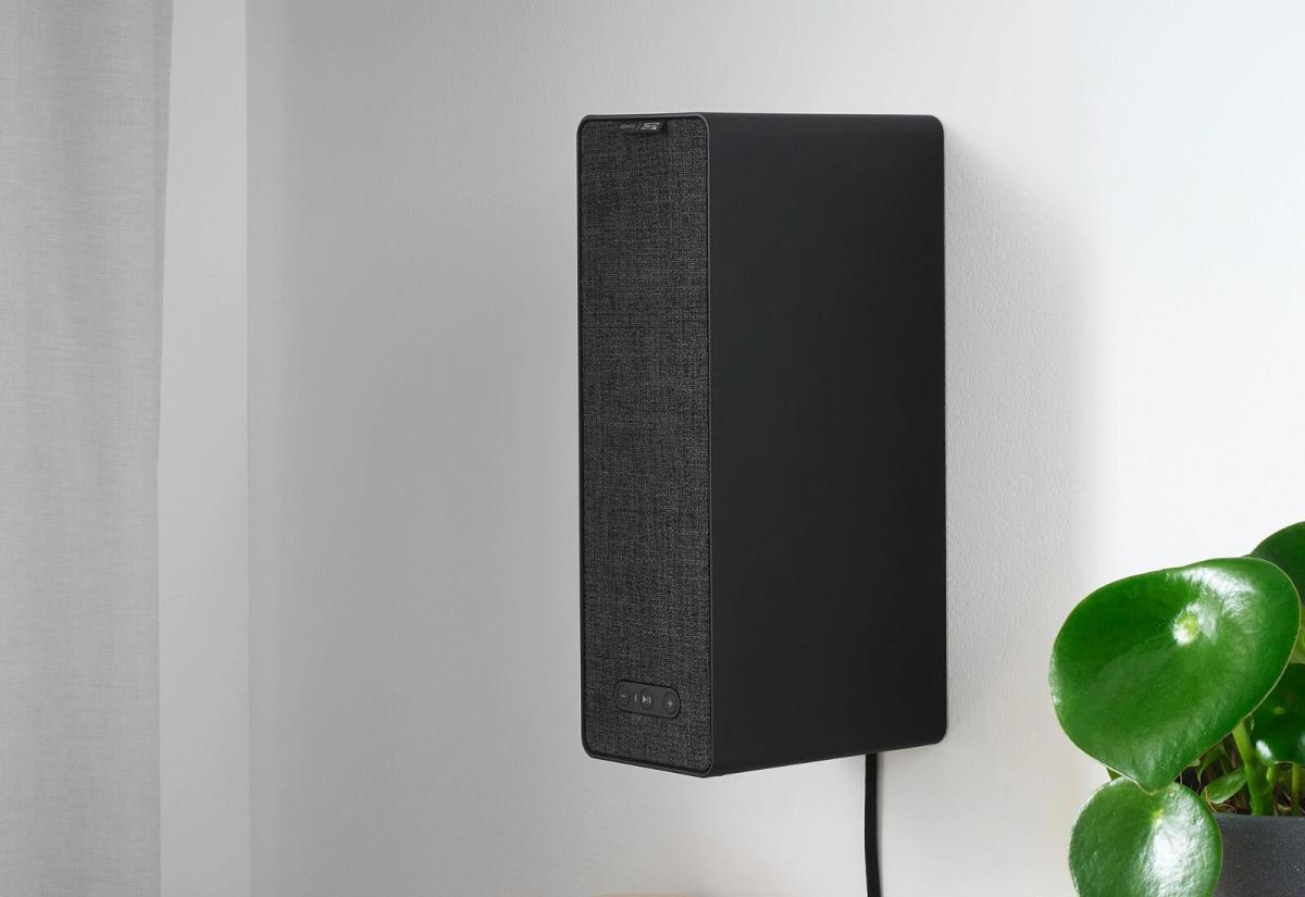 Ikea Symfonsik Regal Schwarz