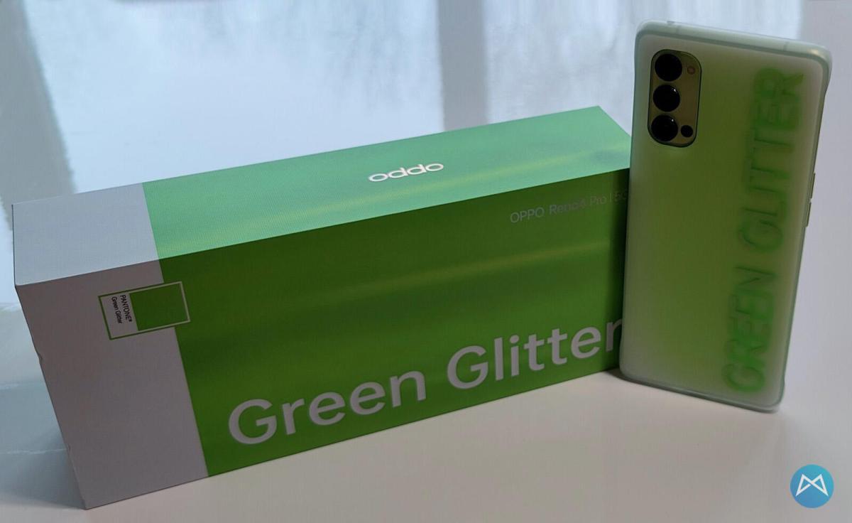 Oppo Reno4 Pro 5g Green Glitter (9)