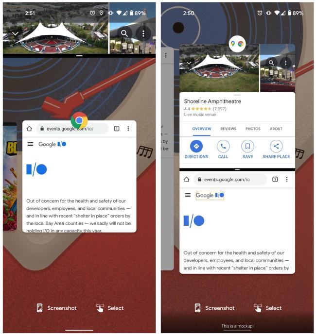 Android 12 App Pair Mockup