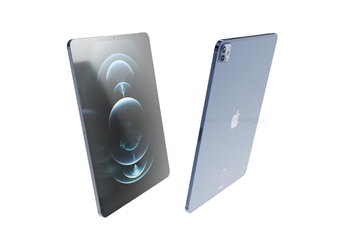 Apple Ipad Pro 2021 Mockup