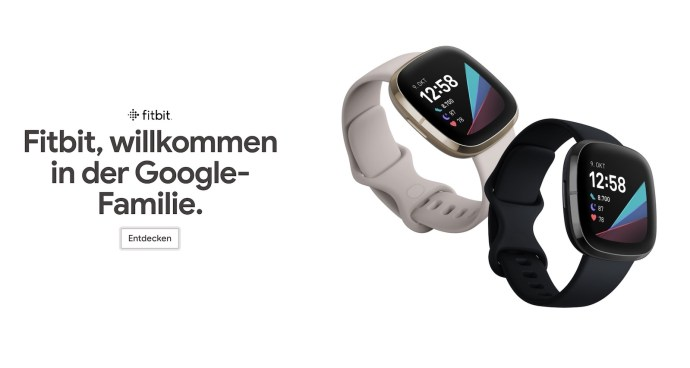 Google Store Fitbit Banner