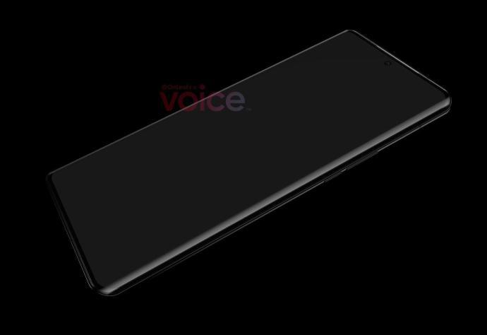 Huawei P50 Pro Front Leak